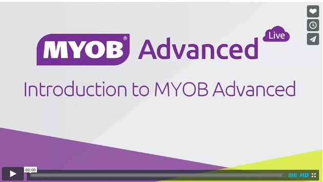 MYOB Advanced Business Accounting Software – Tutorial Videos