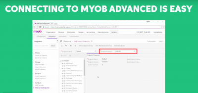MYOB Advanced API demo tutorial video by MYOB (Official)