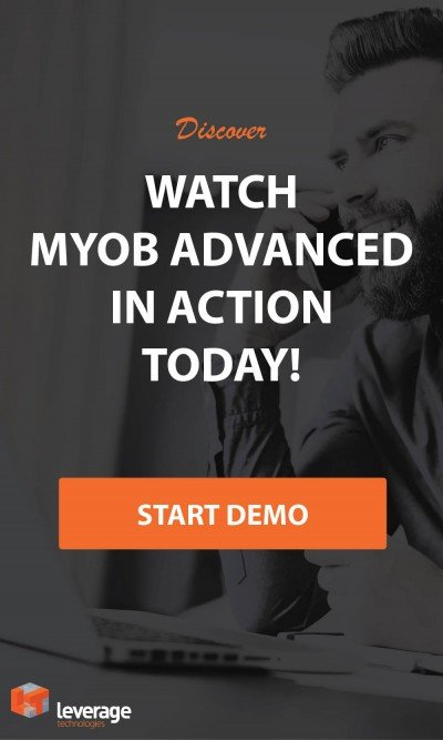 Watch MYOB Advanced in action with this live demo Webinar!