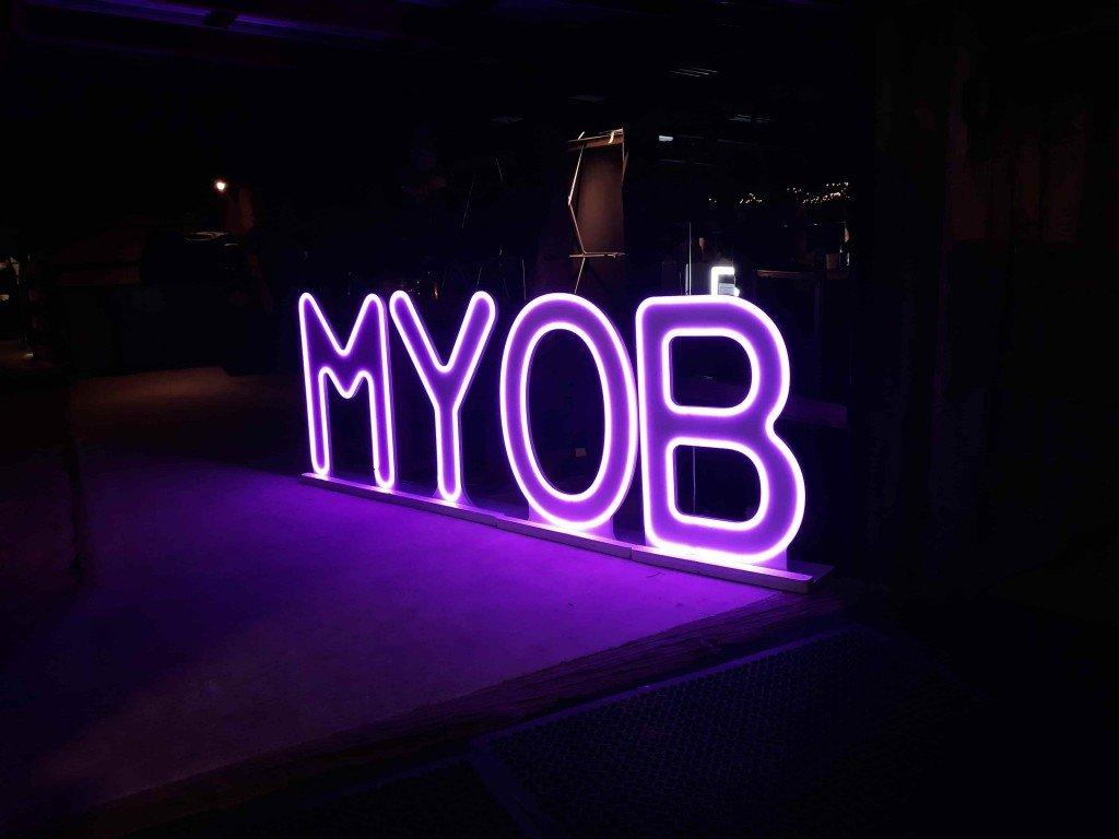 We were awarded MYOB Advanced platinum partner in 2019
